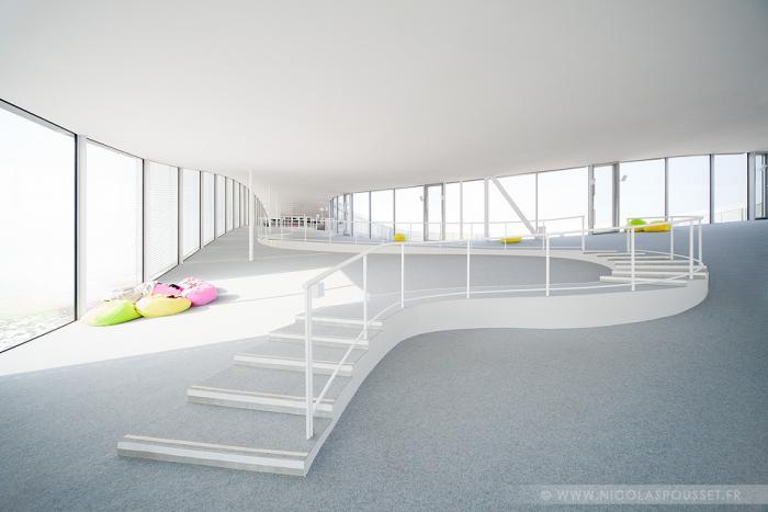 rolex learning center sanaa eliumstudio carte blanche via 2014. Black Bedroom Furniture Sets. Home Design Ideas